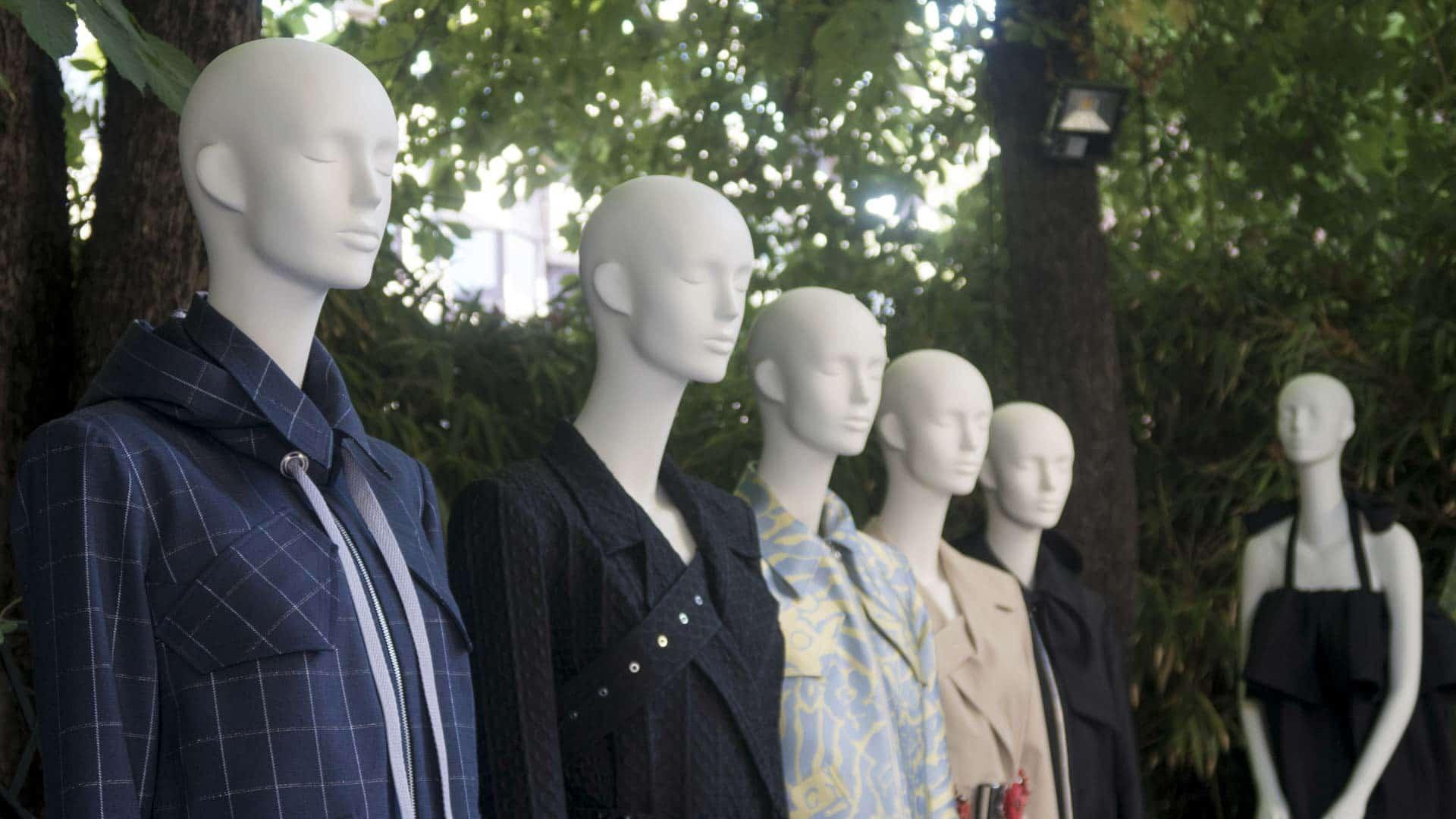evento madrid fashion week maniquies