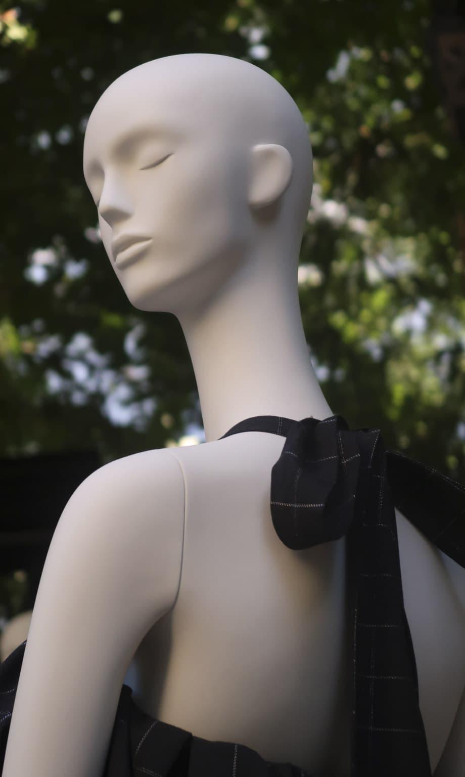 maniqui de moda grace en madrid fashion week