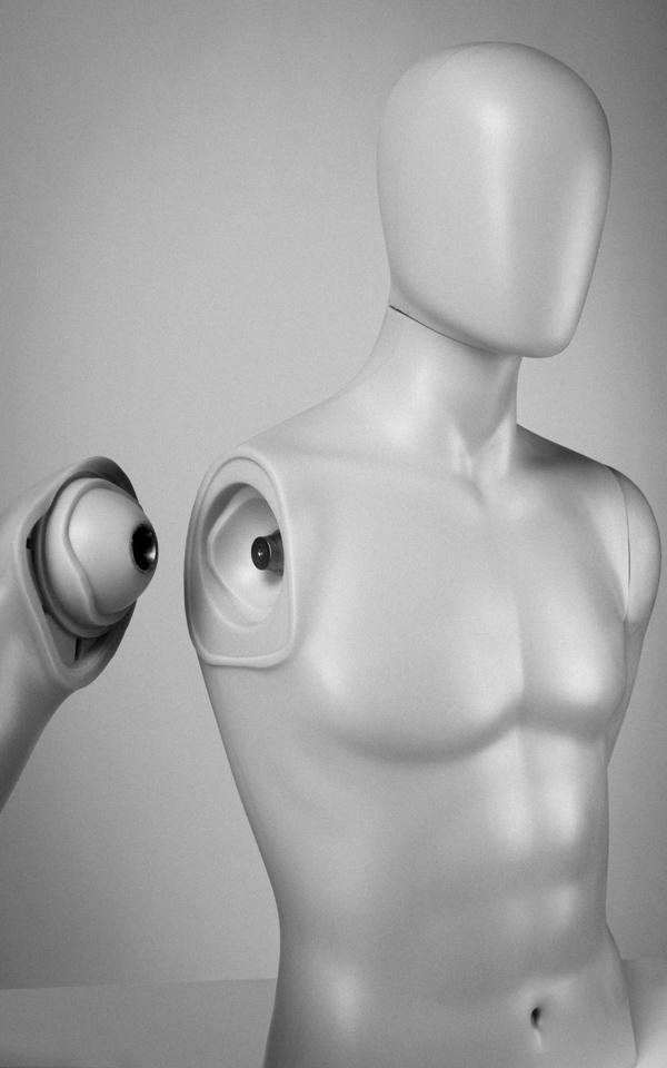 sistema de imán para brazos maniquíes