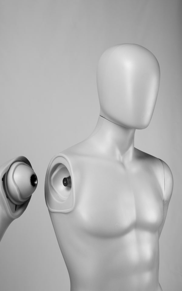magnetic system mannequin