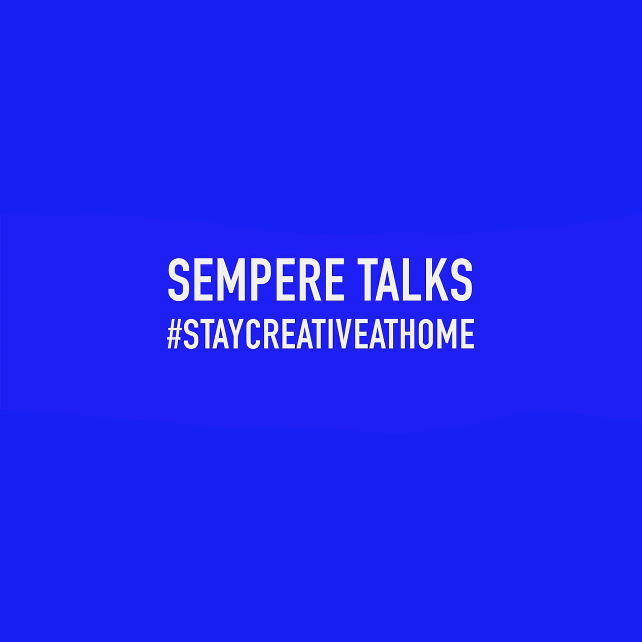 SEMPERE TALKS