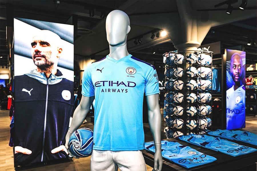 sport retail man city invictus