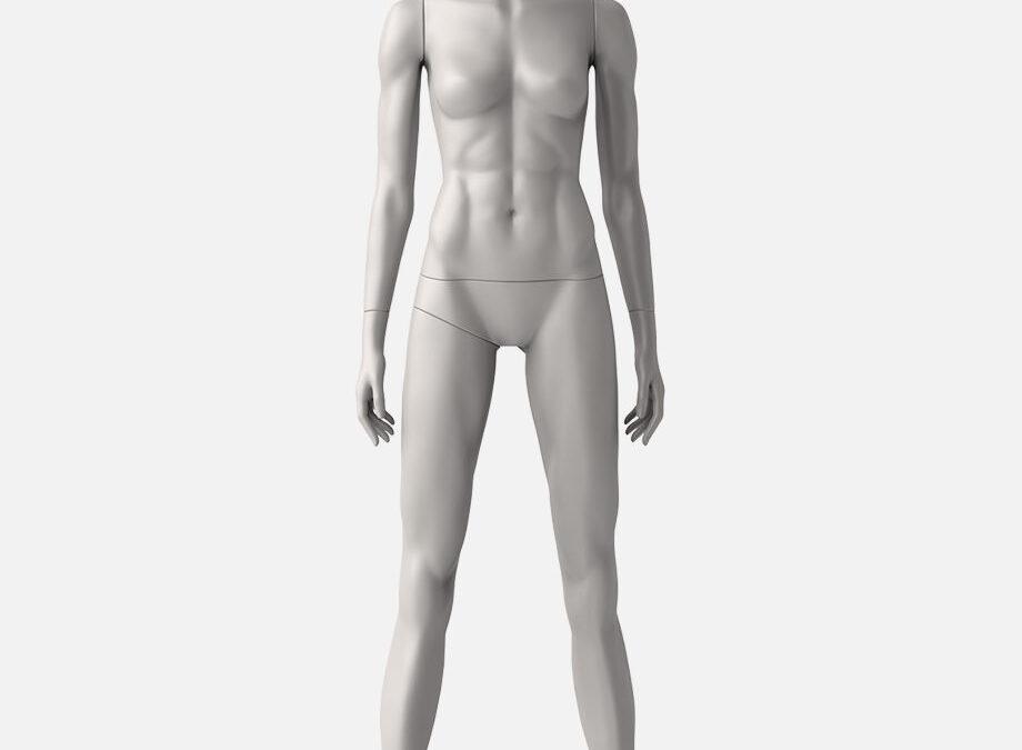 Female sport mannequin