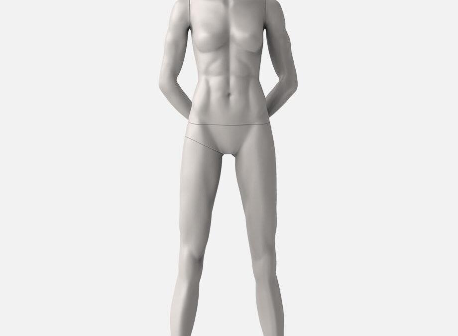 female sport mannequin 2