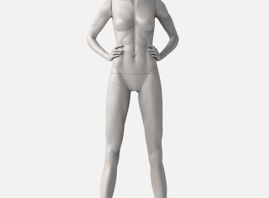 Female sport mannequin 3