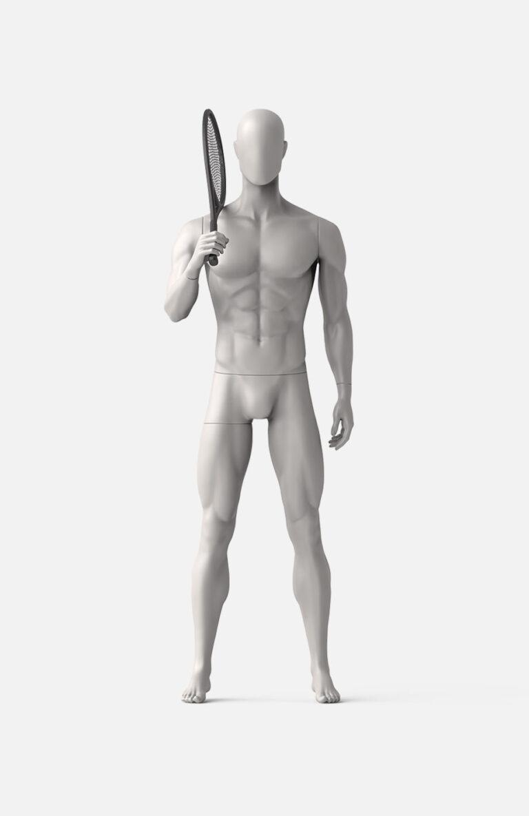 Male tennis mannequin 1