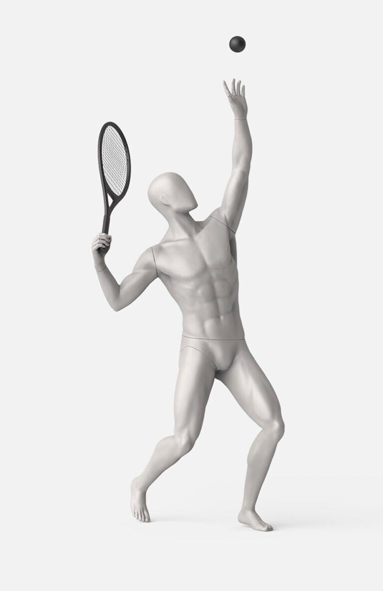 male Tennis mannequin 2