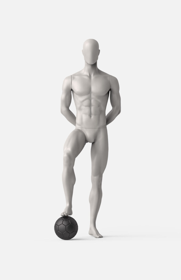 male football mannequin 1