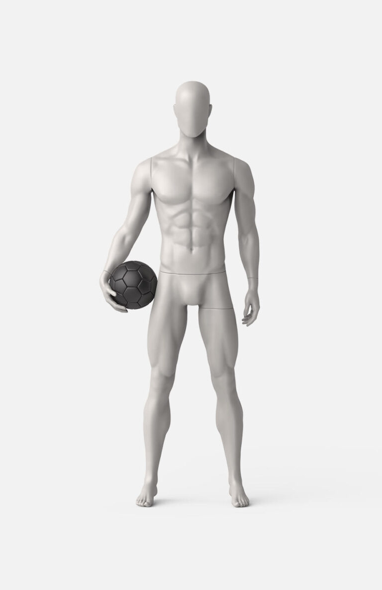 male football mannequin 3
