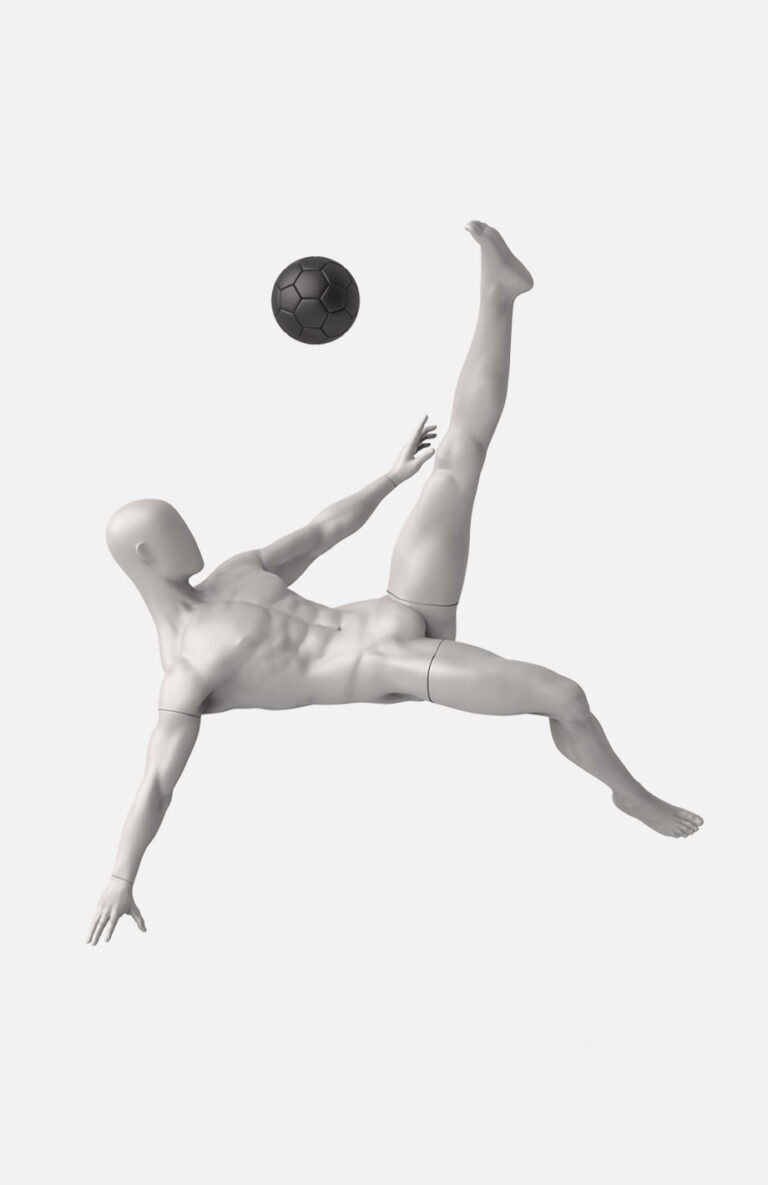 Male football mannequin 2