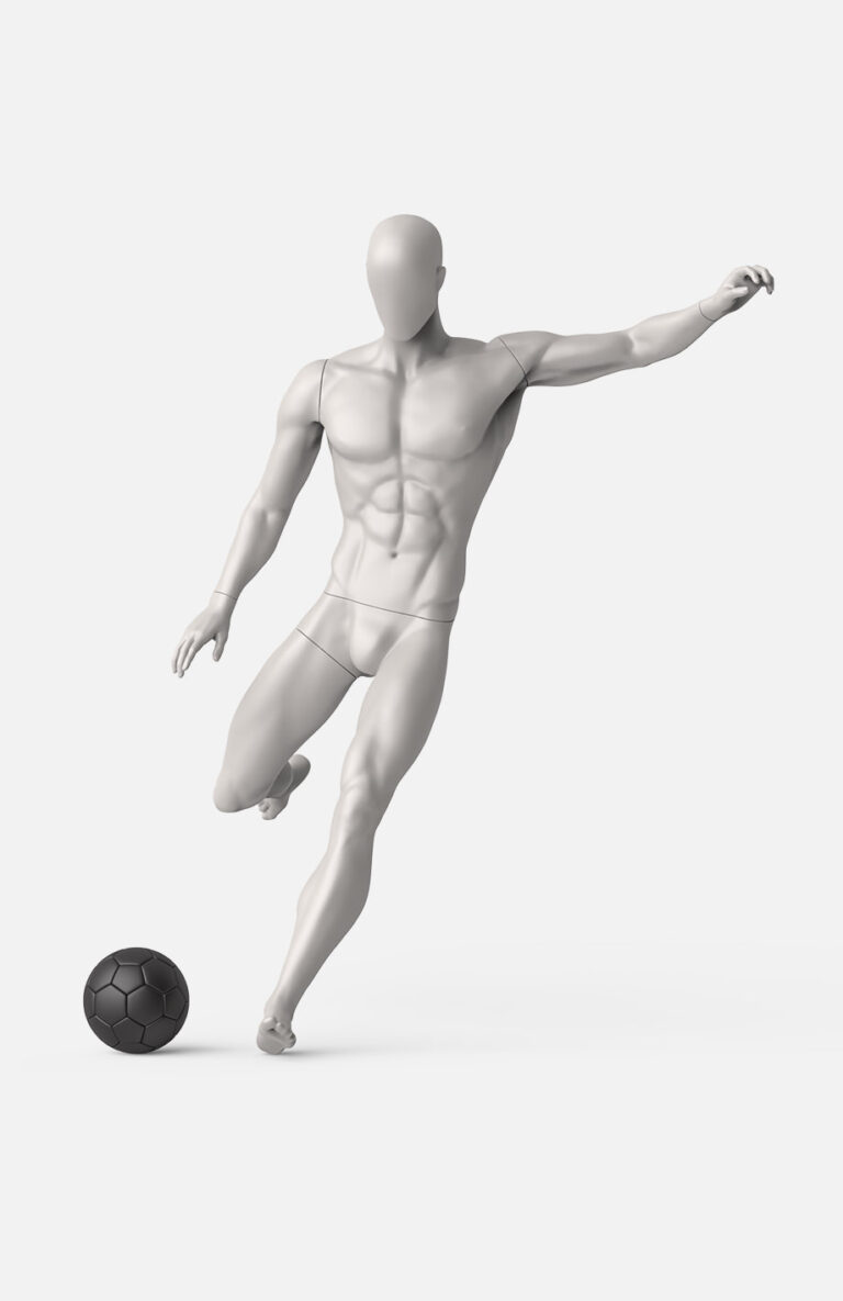 male football mannequin 4