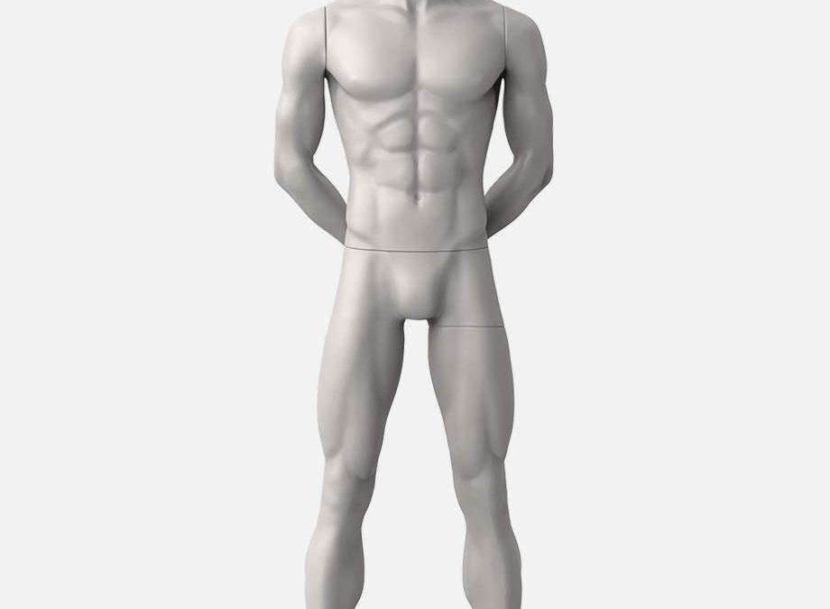 male sport mannequin 2