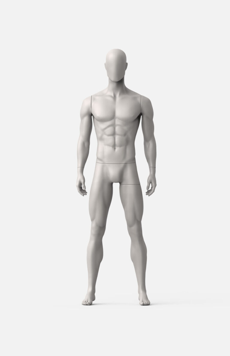 male sport mannequin