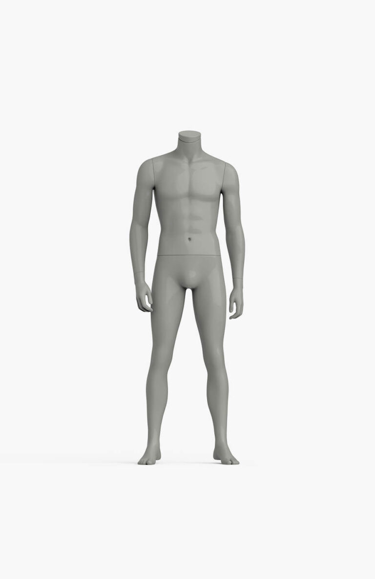 Maniquí deportivo de hombre sin cabeza 1 – Elite Sport