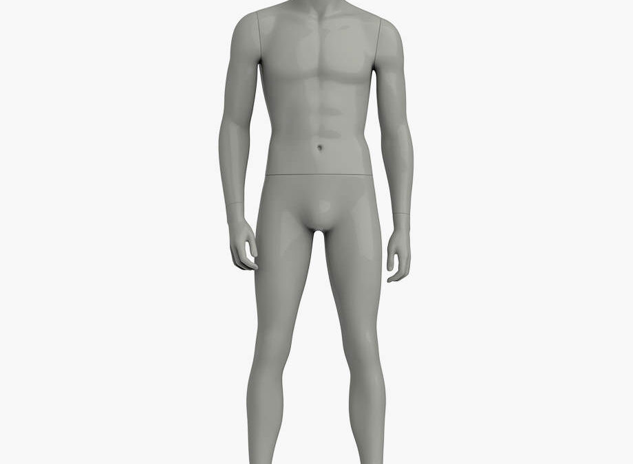 Headless male sport mannequin 1 – Elite sport
