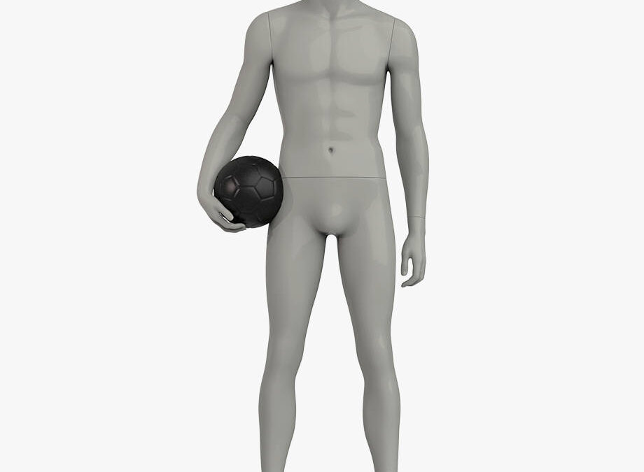 Headless male sport mannequin 3 – Elite sport