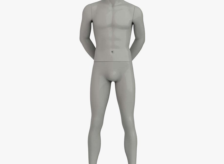 Headless male sport mannequin 2 – Elite sport