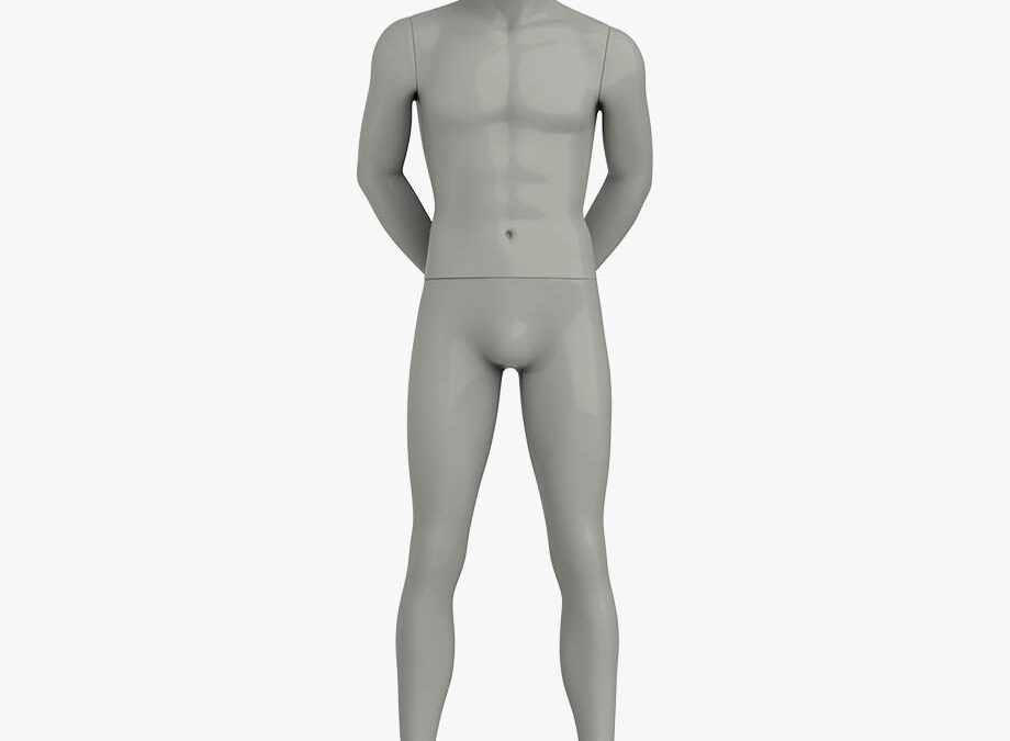 Male sport mannequin 2 – Elite sport