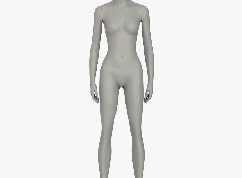 Headless female sport mannequin 1 – elite sport