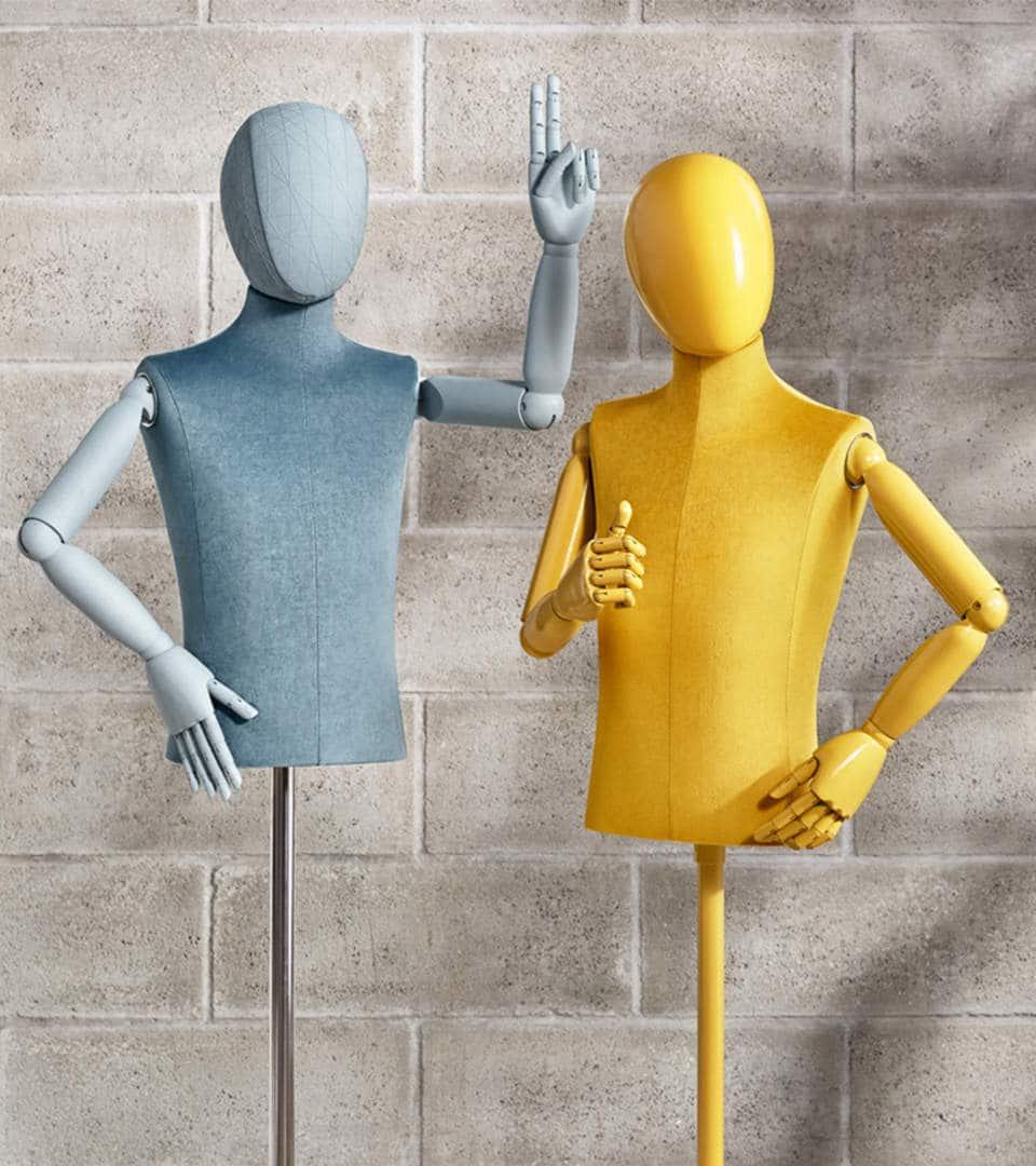 kids mannequins bust forms