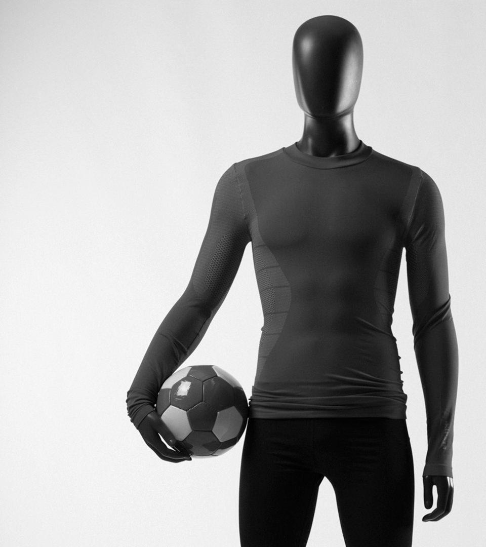 sport mannequin torso