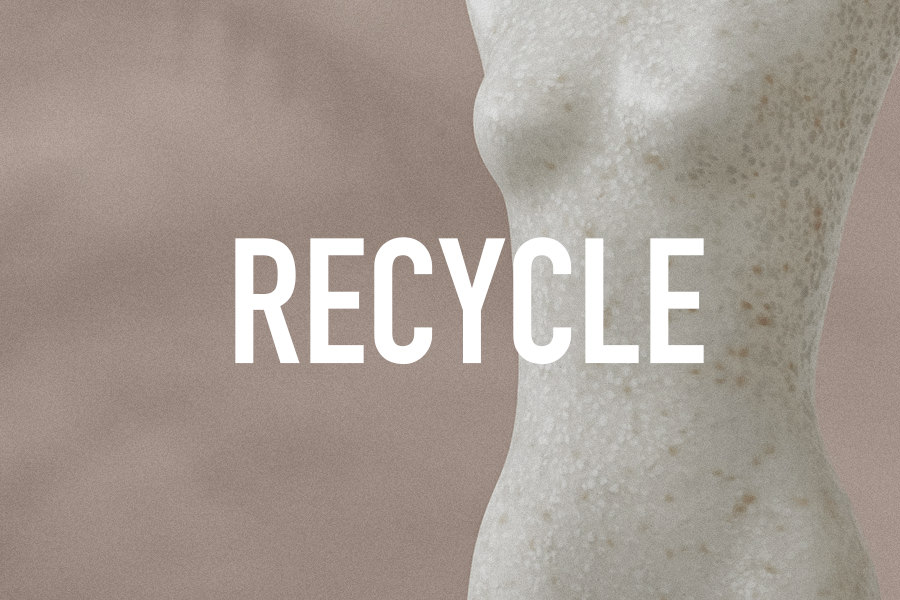 sustainable retail recycle mannequins